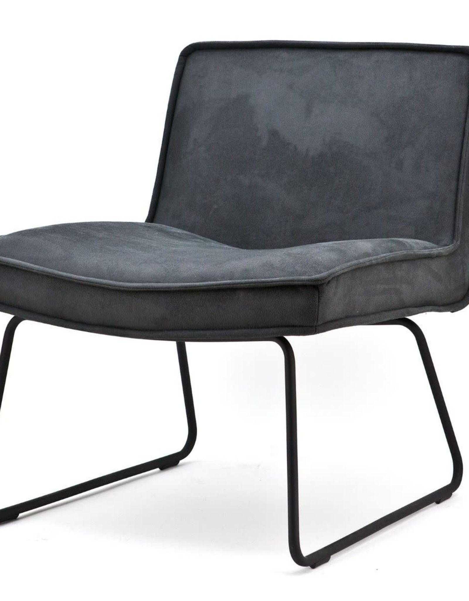 By Boo By Boo - Lounge chair Montana - Antraciet touareq