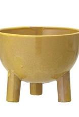 Bloomingville Bloomingville - Flowerpot yellow stoneware