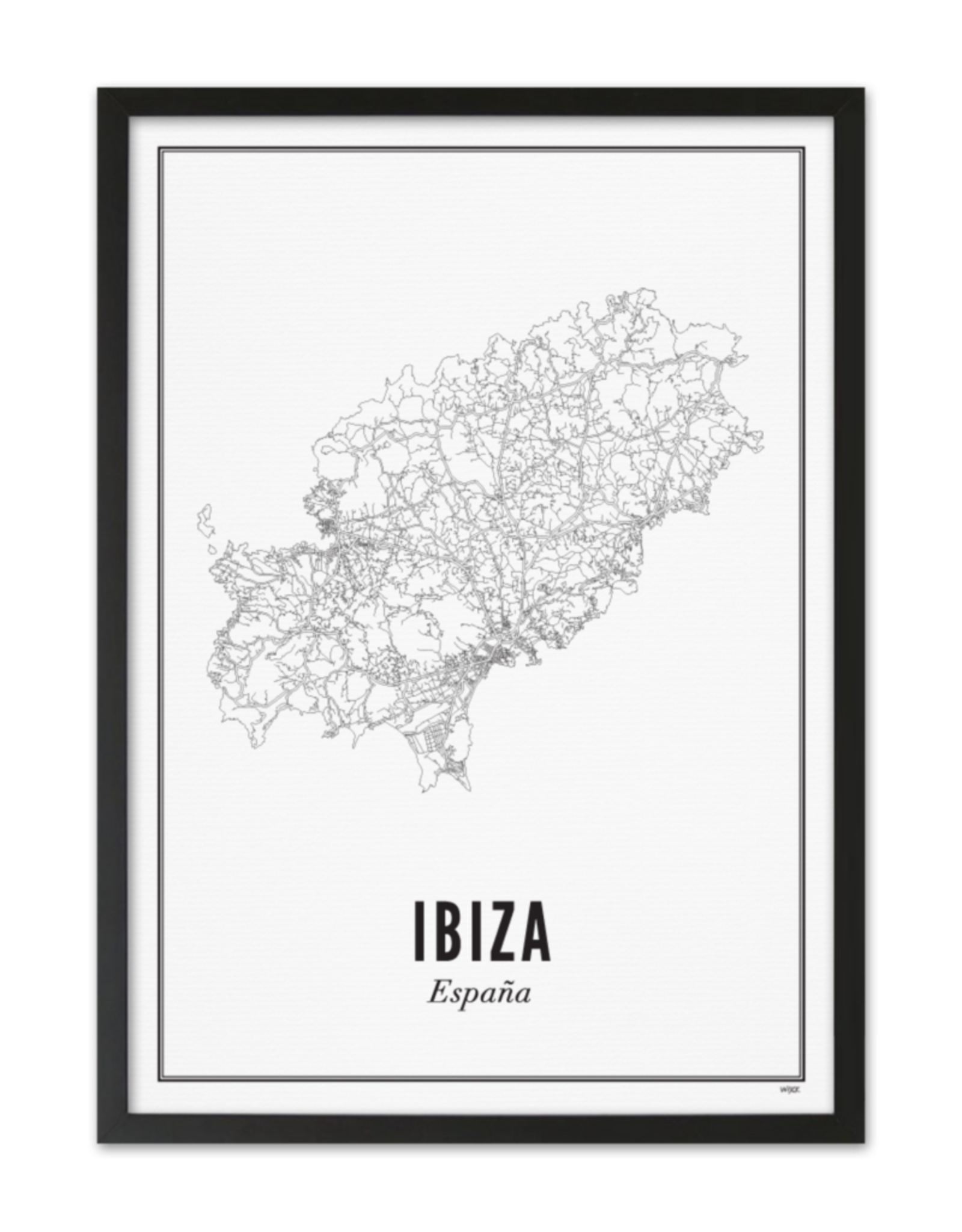 Wijck Wijck - prints - 40x50 - Ibiza