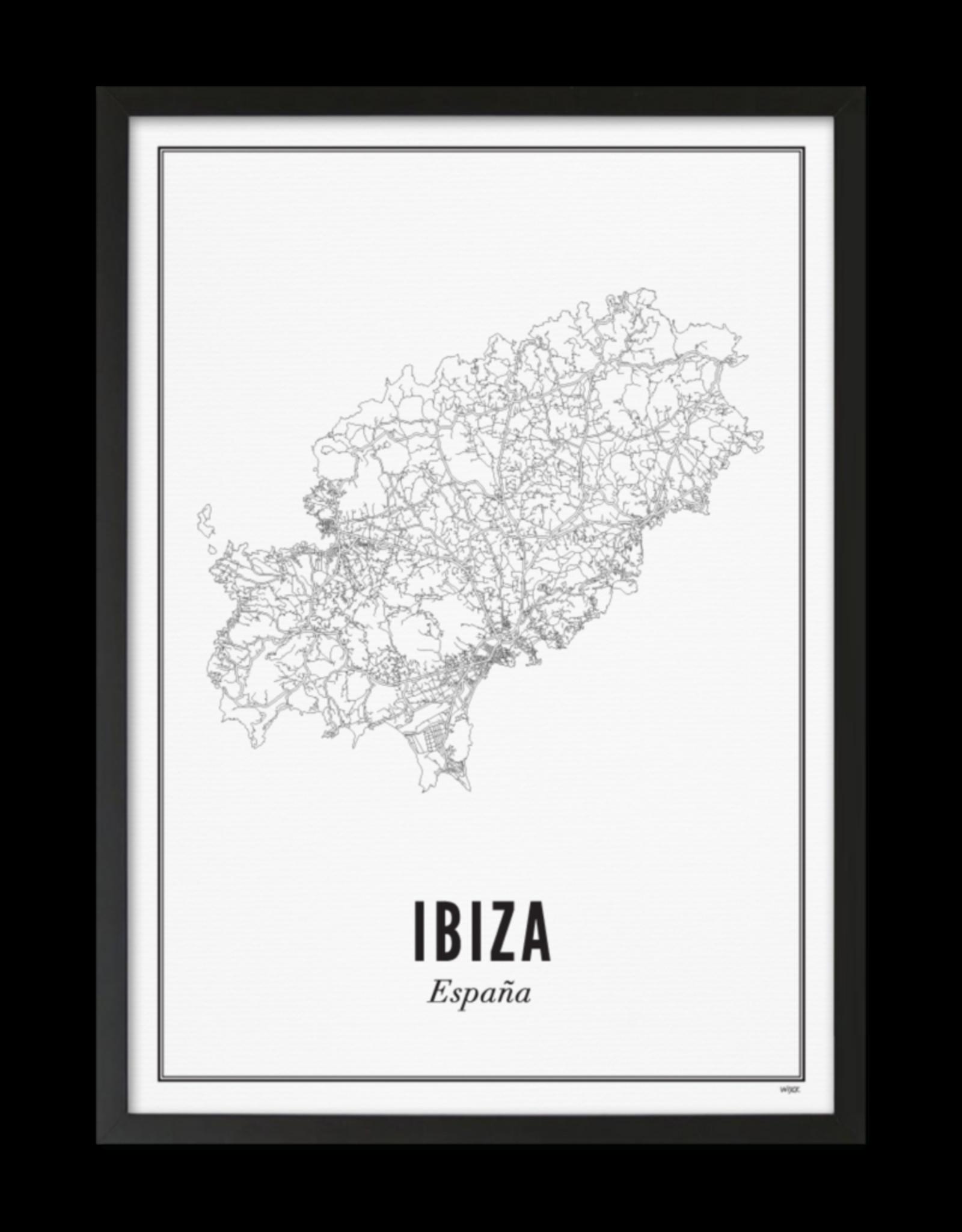 Wijck Wijck - prints - 50x70 - Ibiza