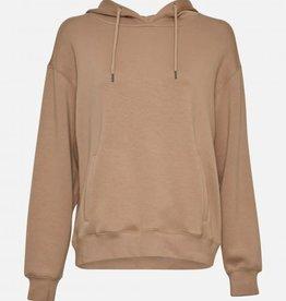 Moss Copenhagen MSCH - Ima Hood Sweatshirt cornstalk