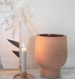 Zusss Zusss - bloempot terracotta L