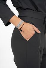 Zusss Zusss - Elastische armbandje geniet lichtgrijs