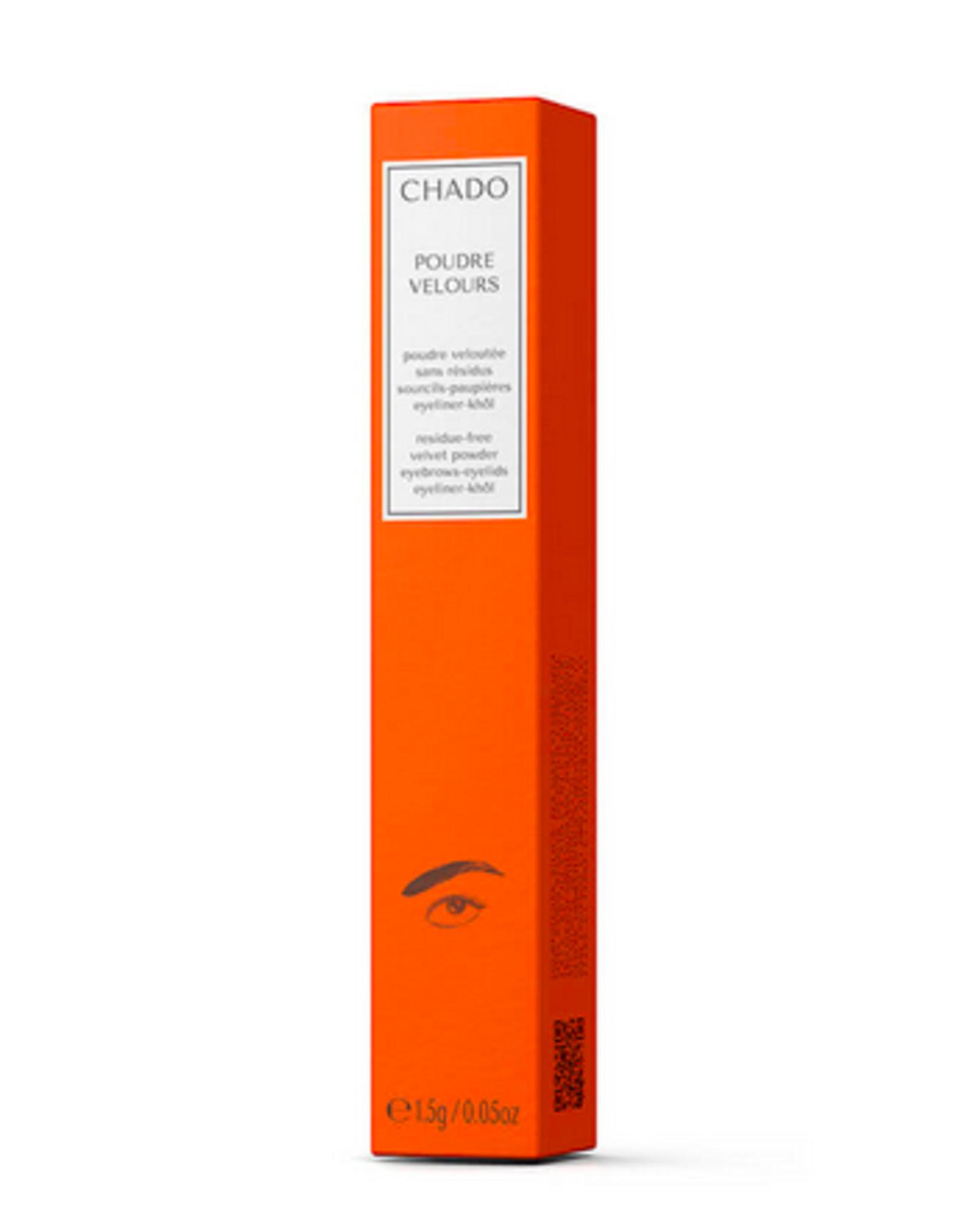 Chado Chado - poudre velours - brun 209