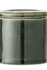 Bloomingville Bloomingville - Joëlle potje groen stoneware Ø8H8