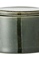Bloomingville Bloomingville - Joëlle potje groen stoneware Ø10H8