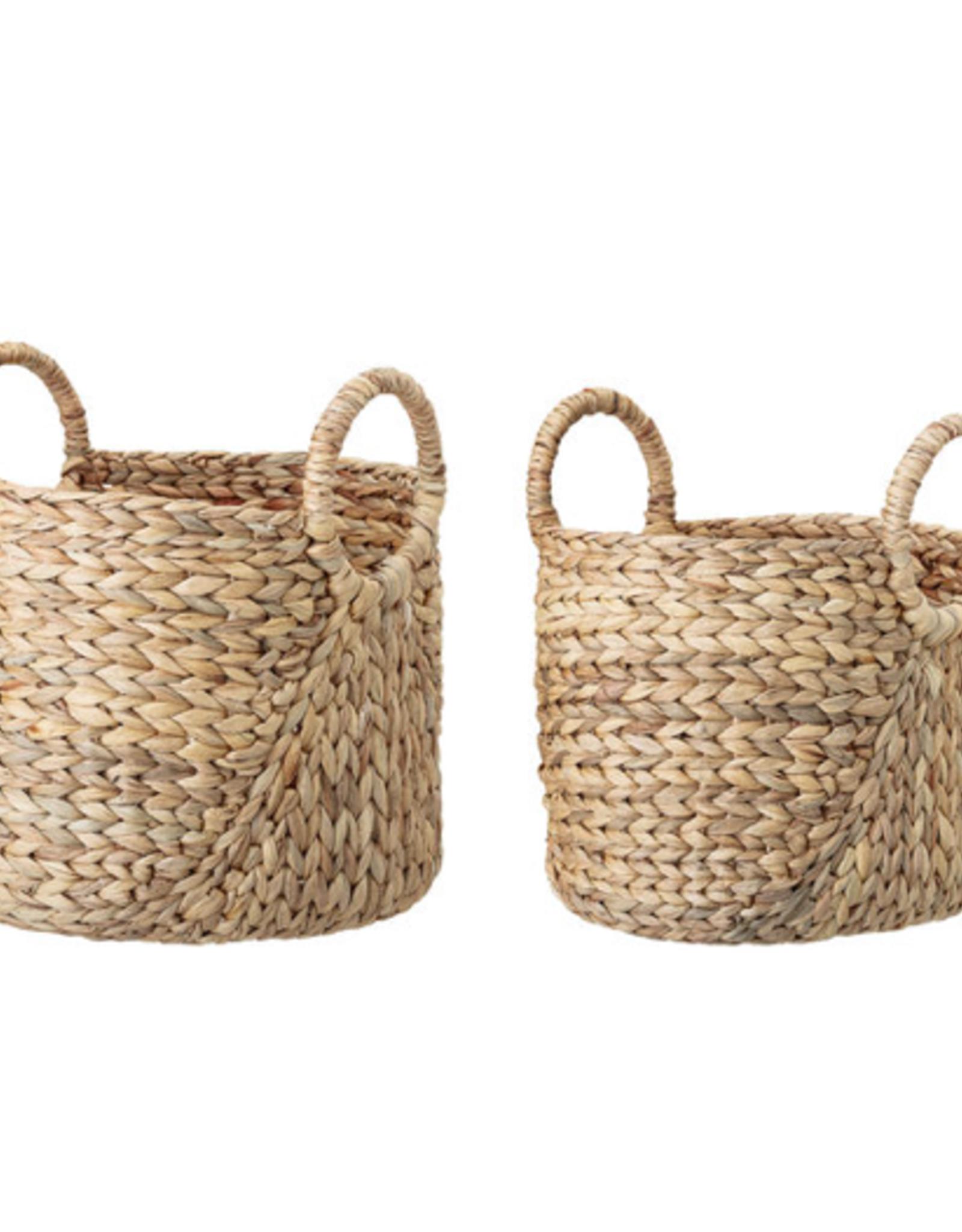 Bloomingville Bloomingville - Basket Nature water hyacinth model 2 L