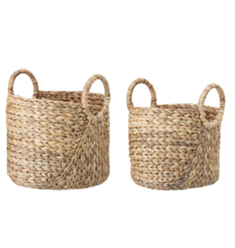 Bloomingville Bloomingville - Basket Nature water hyacinth model 2 L