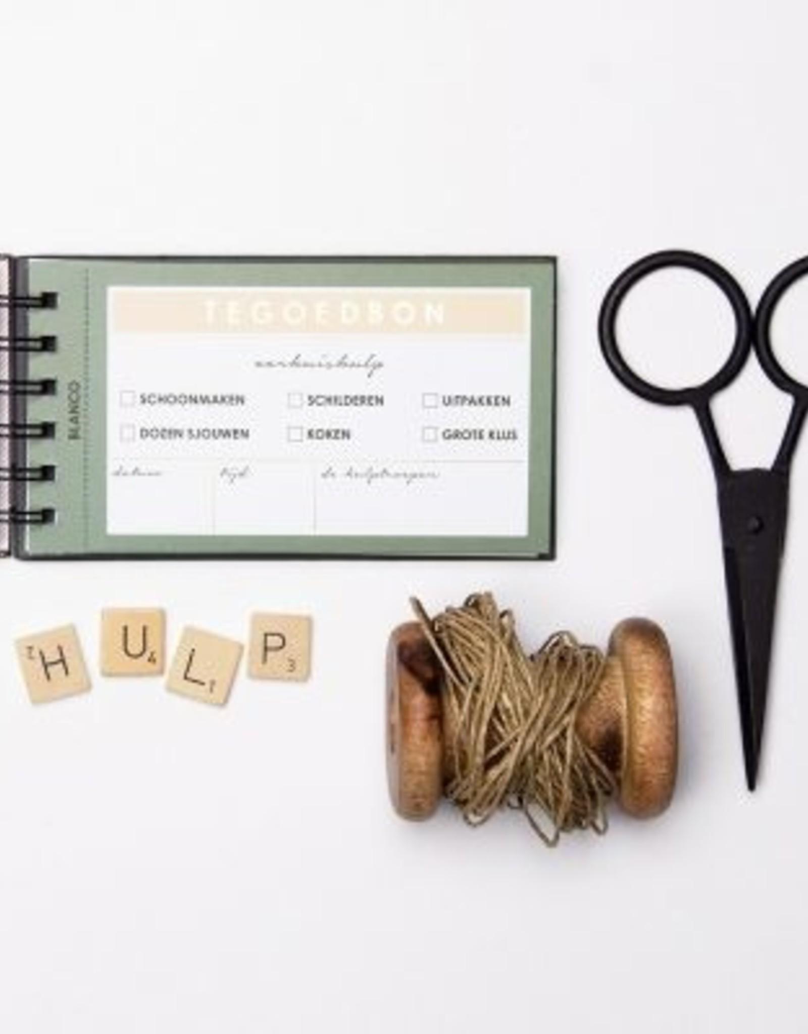 Hop - Handige hulpbonnen - Black & gold