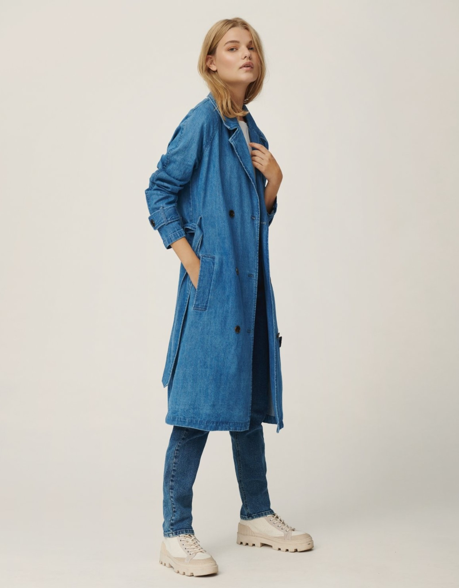Moss Copenhagen MSCH - Stephanie trench coat