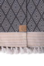 Zusss Zusss - Hammam handdoek met kwastjes