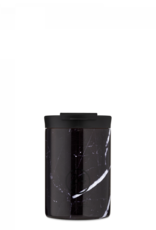24 Bottles 24 Bottles - Travel Tumbler Black marble 350ml