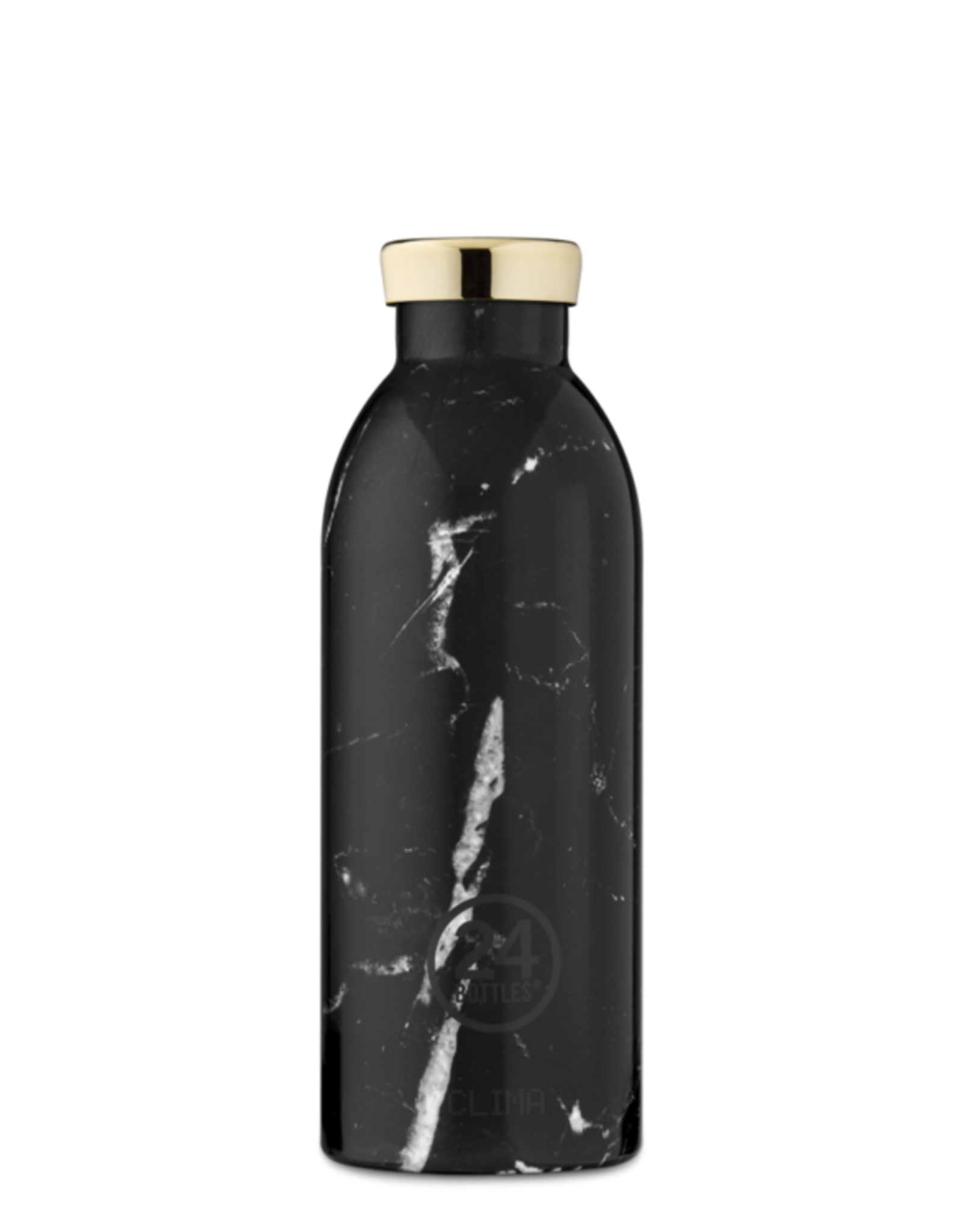 24 Bottles 24 Bottles - Clima bottle Marble black 500ml