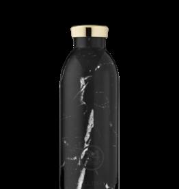 24 Bottles 24 Bottles - Clima bottle Marble black 500ml