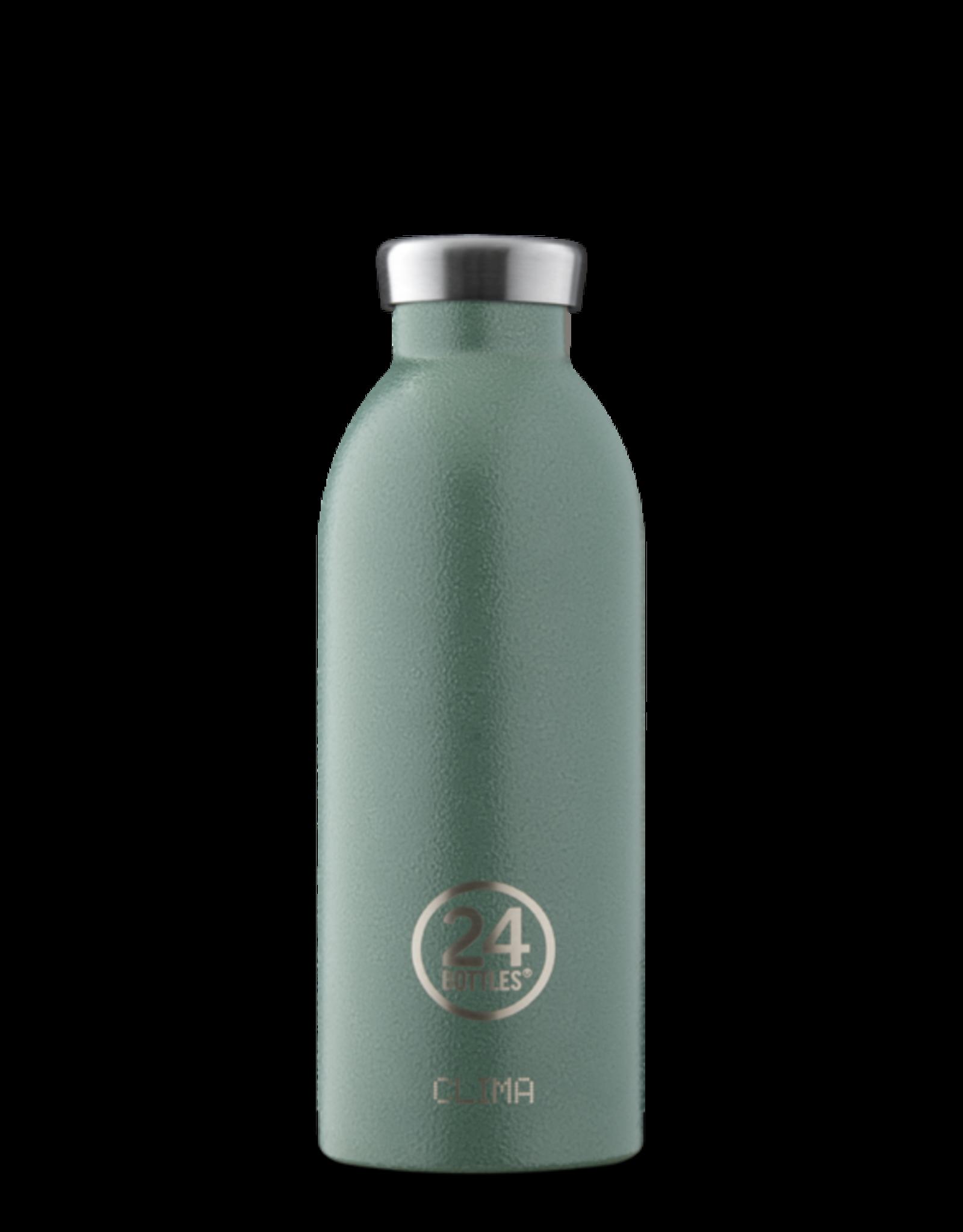 24 Bottles 24 Bottles - Clima bottle Rustic Moss green 500ml