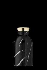 24 Bottles 24 Bottles - Clima bottle Marble black 330ml
