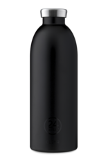 24 Bottles 24 Bottles - Clima bottle Tuxedo black 850ml
