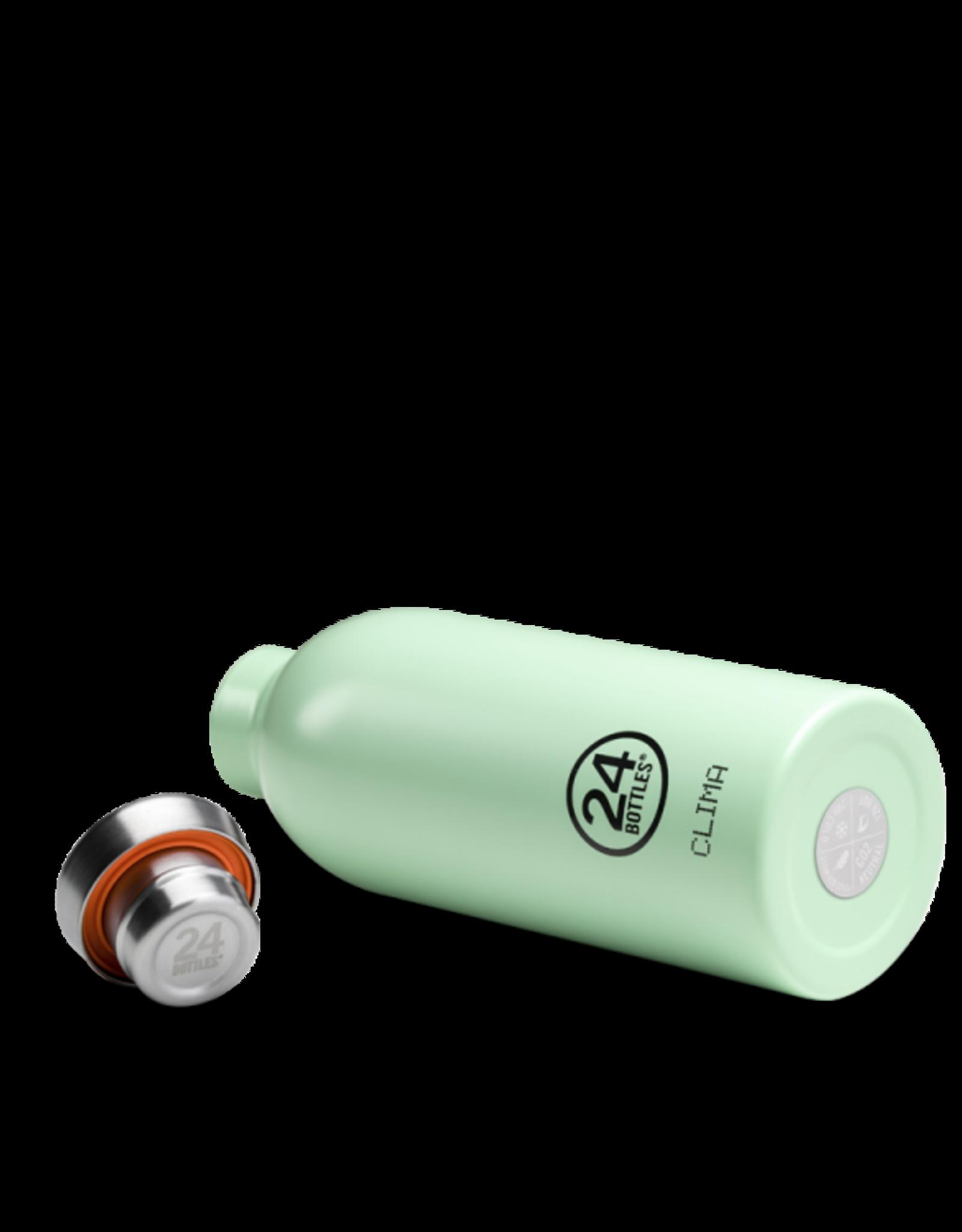 24 Bottles 24 Bottles - Clima  Bottle  Aqua green 500ml