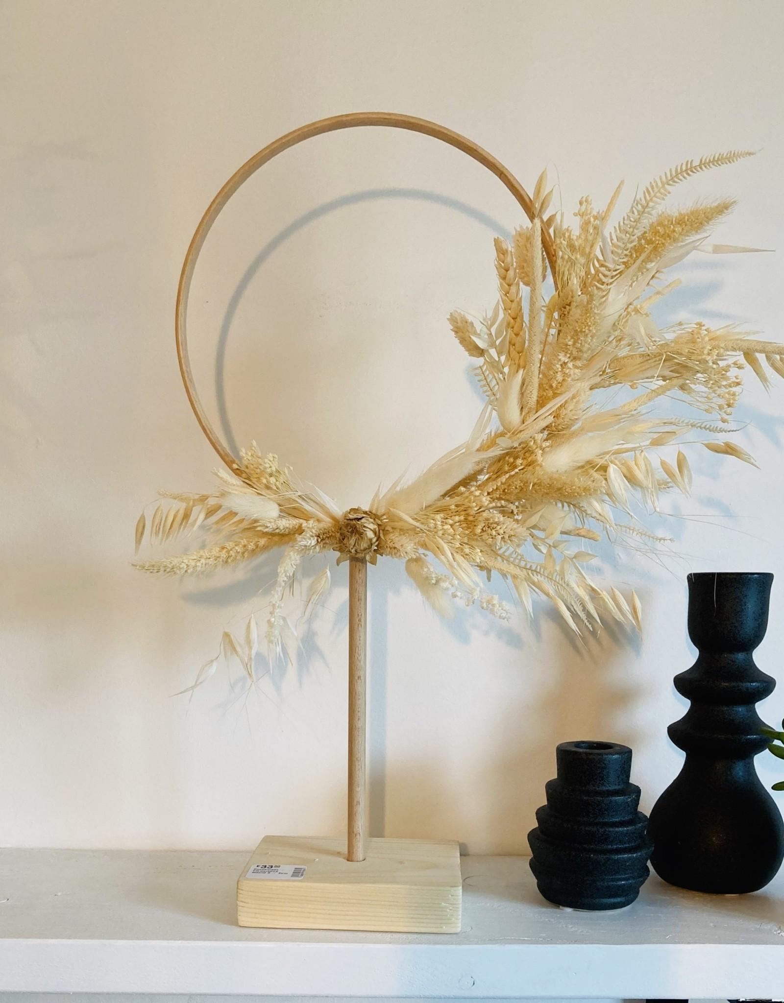 Cocoomade - Flowerhoop staand S - Ecru
