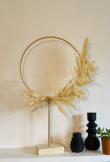 Cocoomade Cocoomade - Flowerhoop staand M - Ecru