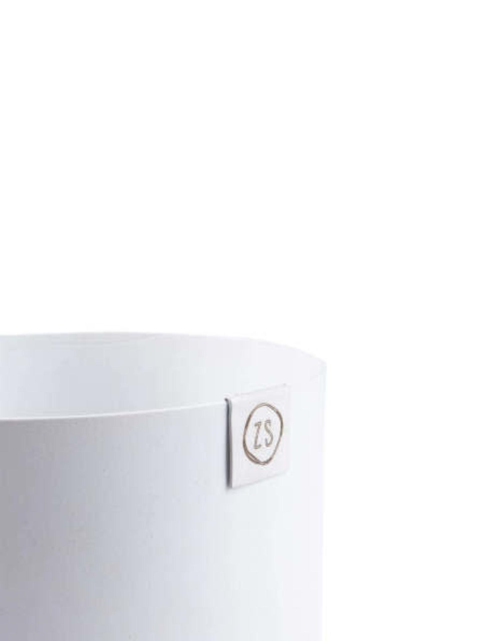 Zusss Zusss - Potje metaal wit 8cm