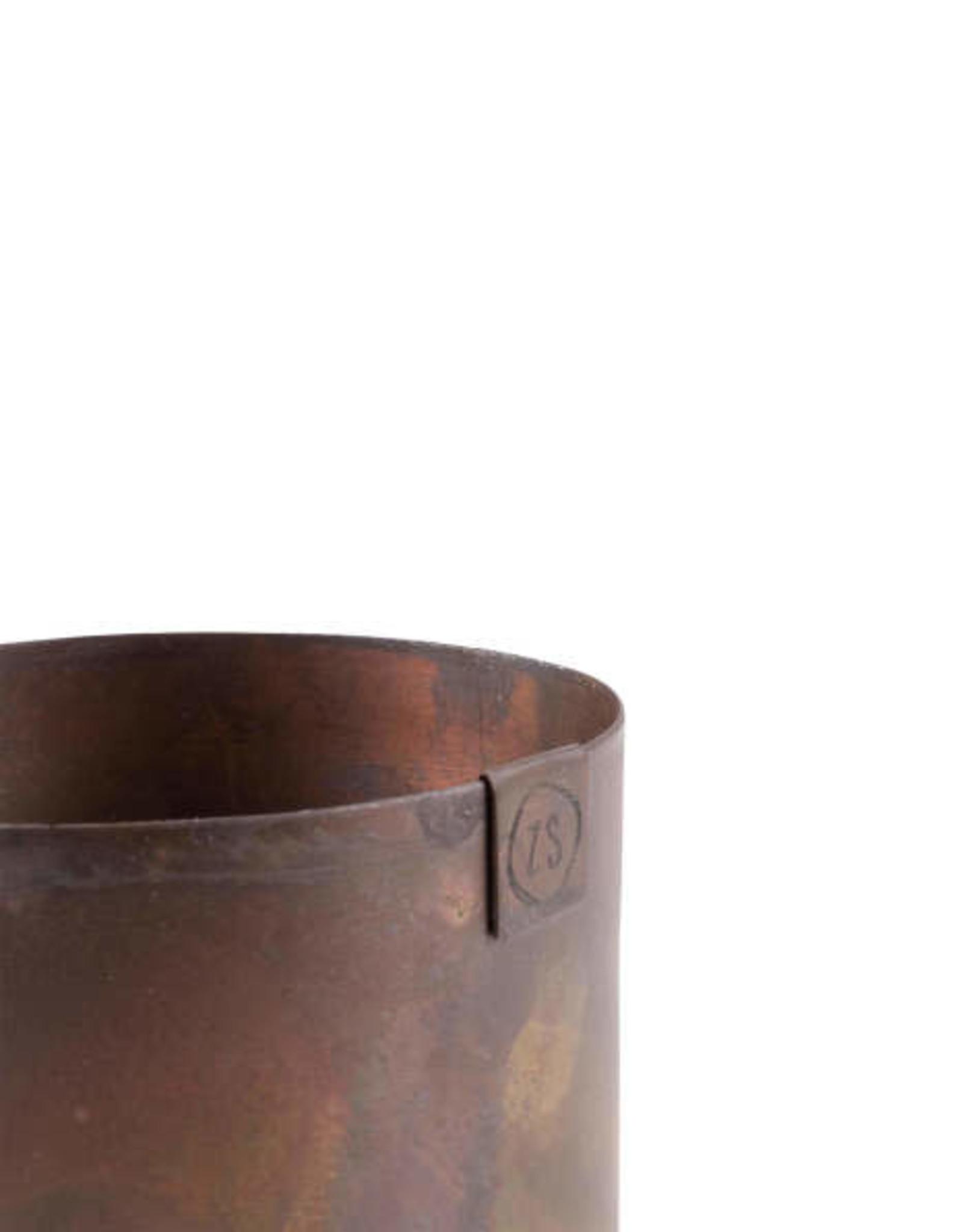 Zusss Zusss - Potje metaal koper 8cm