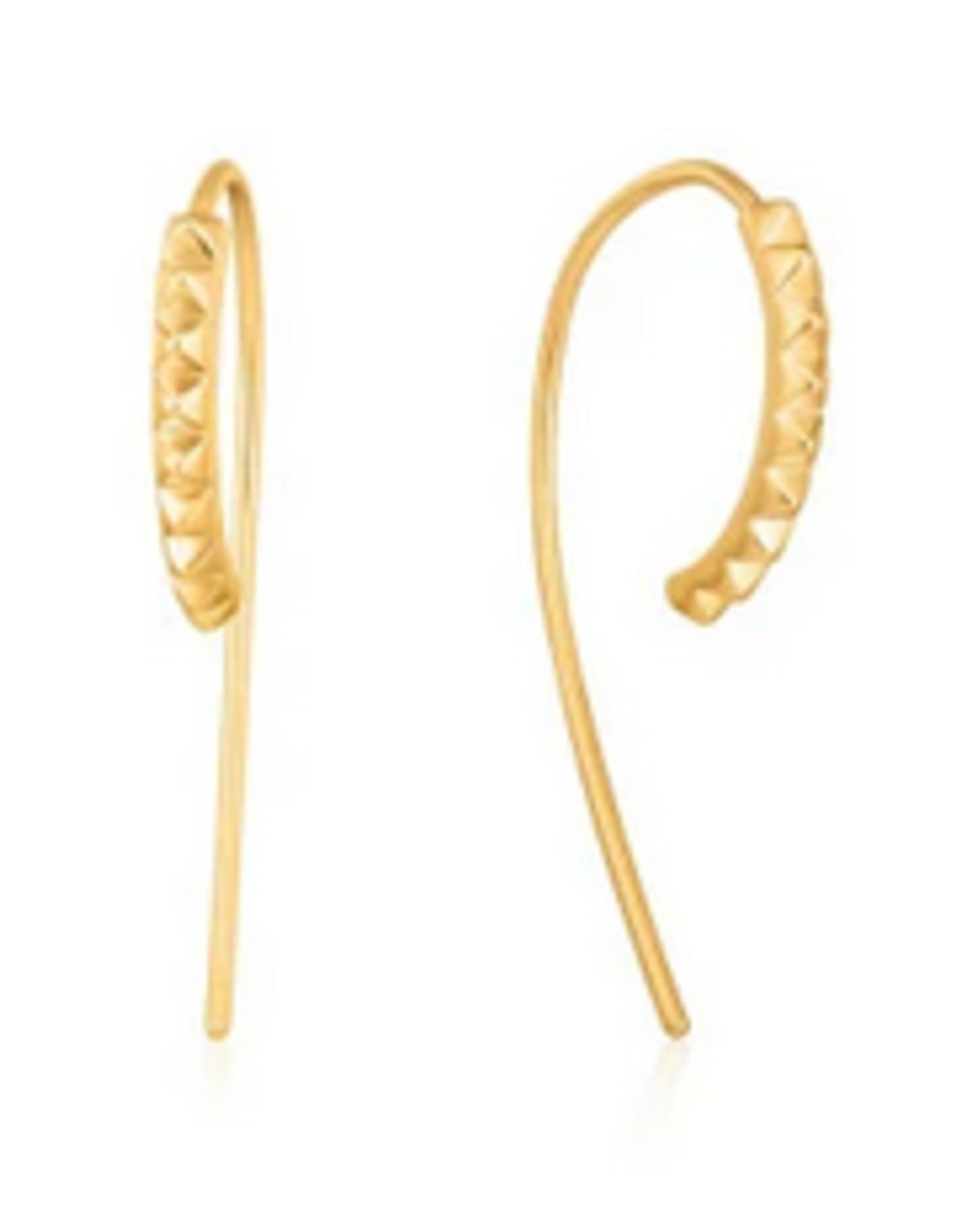 Ania Haie Ania Haie - spike solid drop earrings