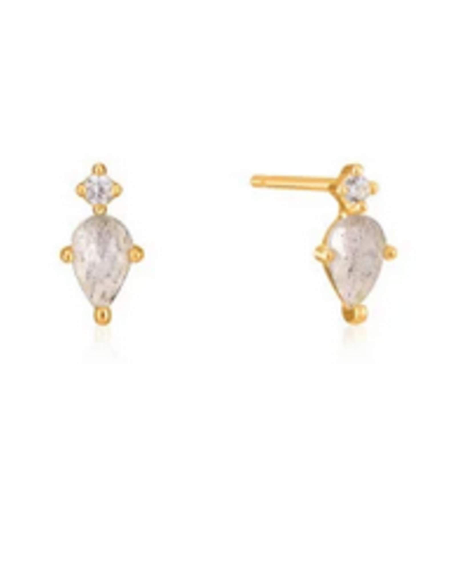 Ania Haie Ania Haie - midnight stud earrings gold