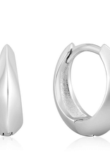 Ania Haie Ania Haie - single spike huggie hoop earrings silver