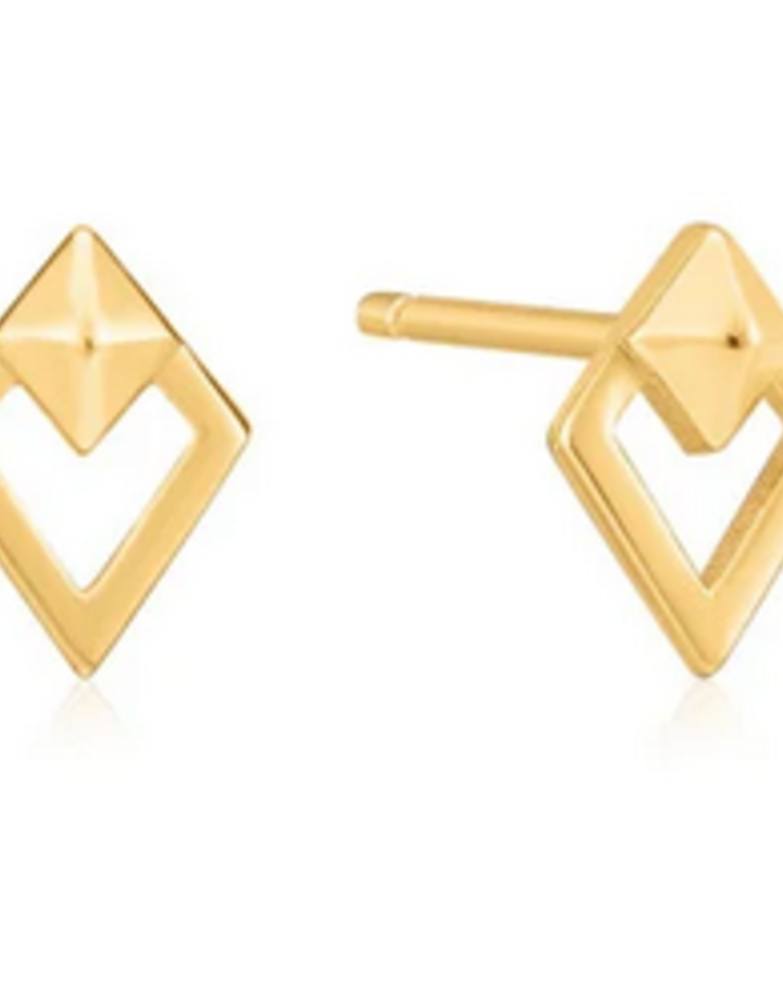 Ania Haie Ania Haie - spike diamond stud earrings gold