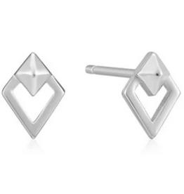 Ania Haie Ania Haie - spike diamond stud earrings silver
