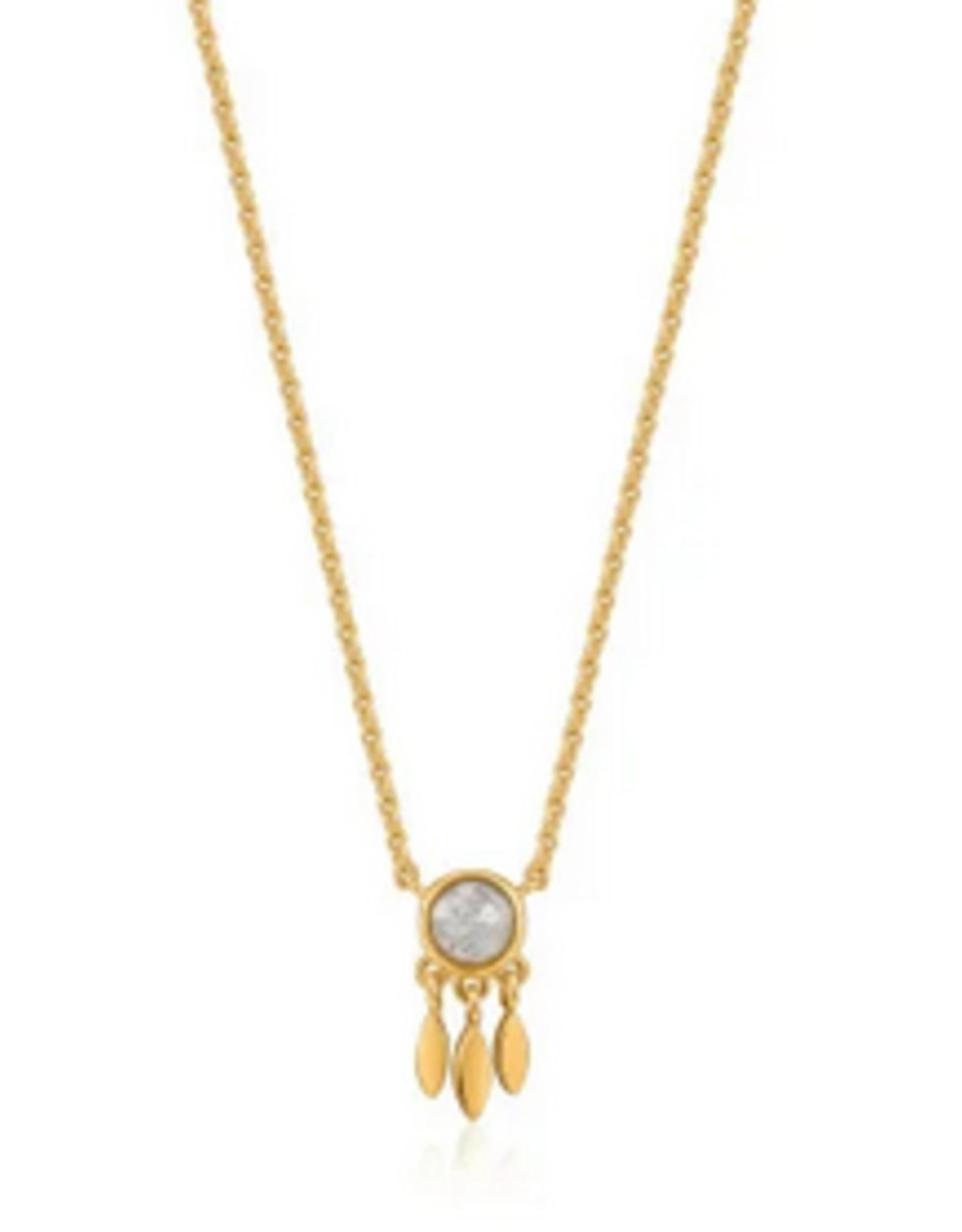 Ania Haie Ania Haie - midnight fringe necklage gold