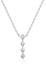 Ania Haie Ania Haie - spike drop necklace silver