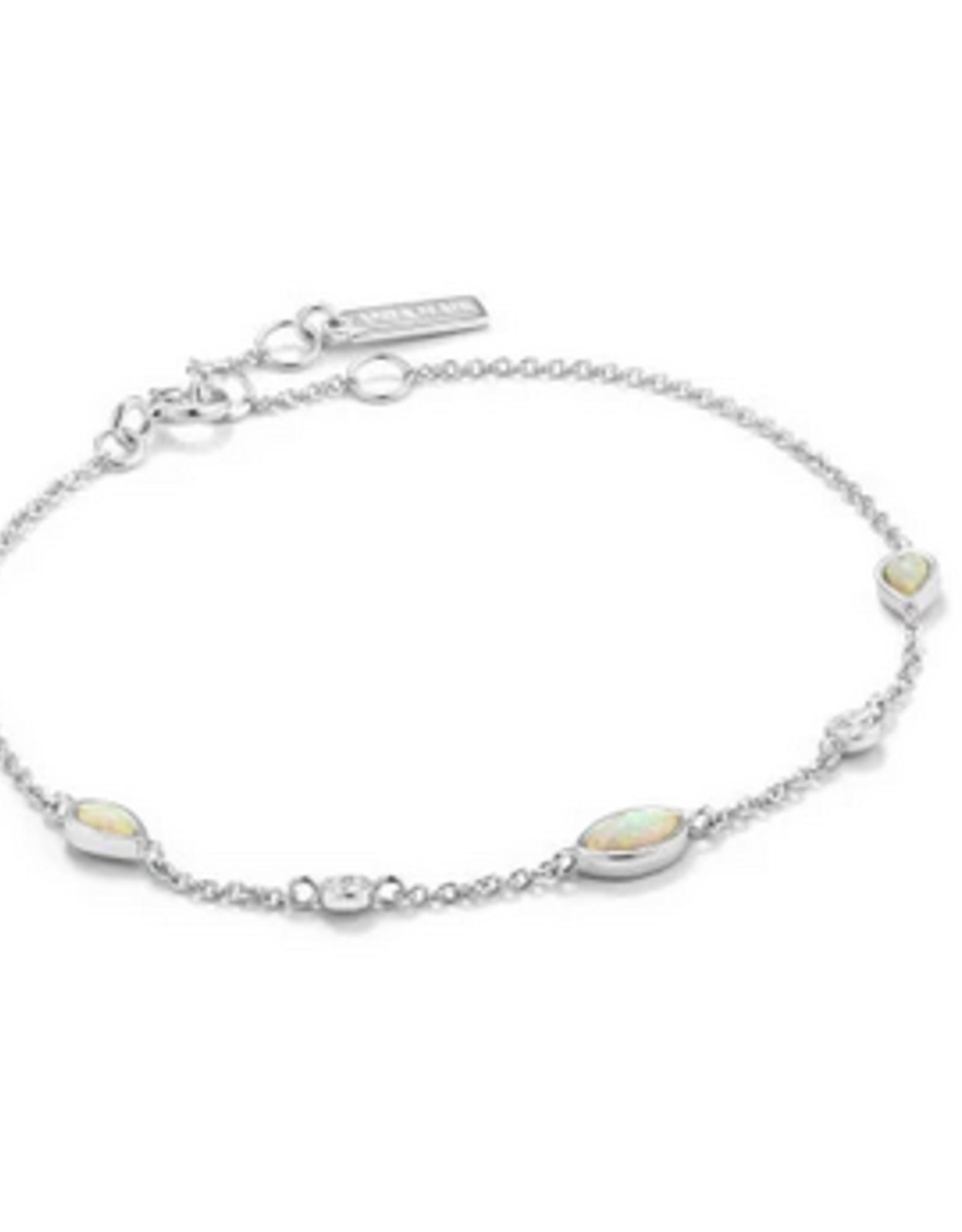 Ania Haie Ania Haie - Opal colour bracelet silver