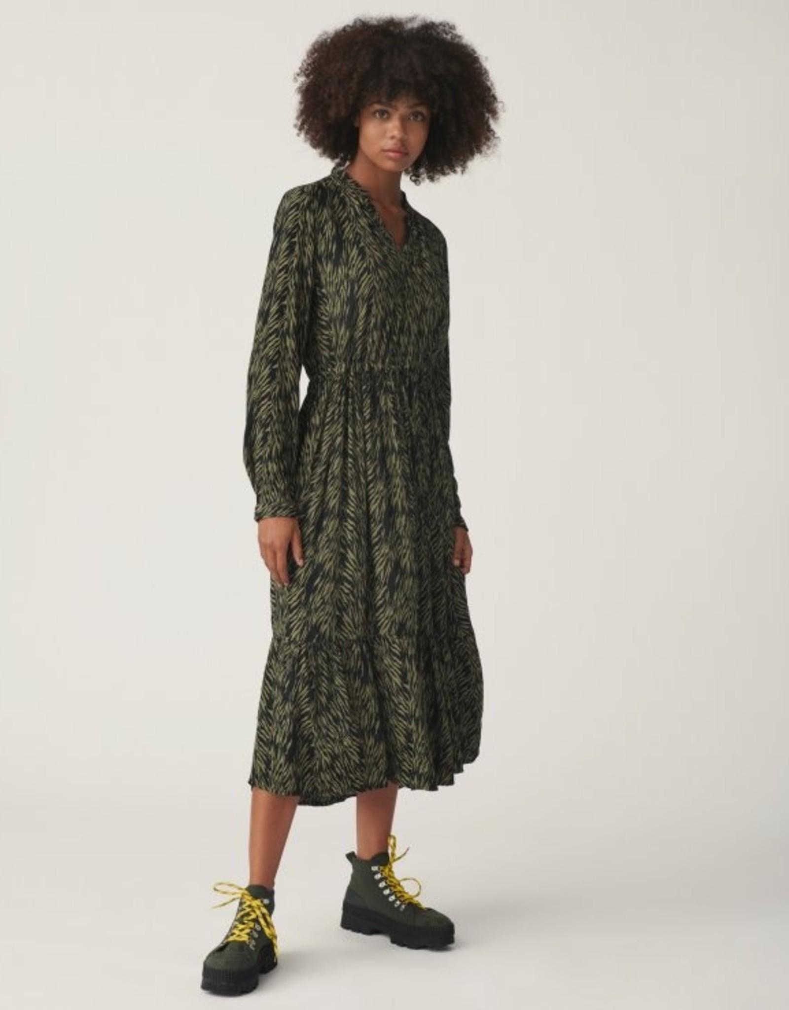 Moss Copenhagen MSCH - Calie maroco dress - saga zebra