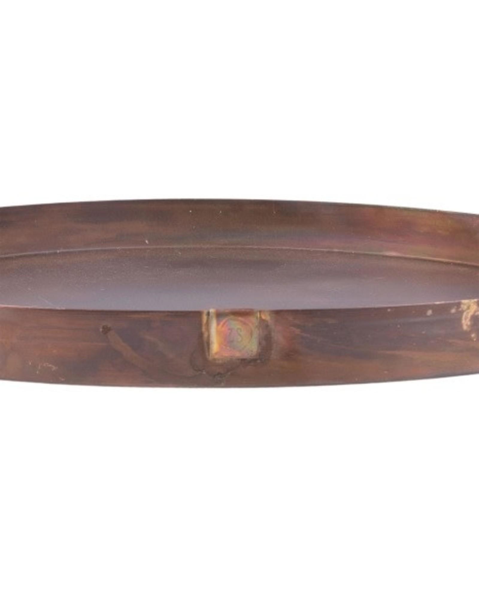 Zusss Zusss - Stylingbord metaal 40cm koper