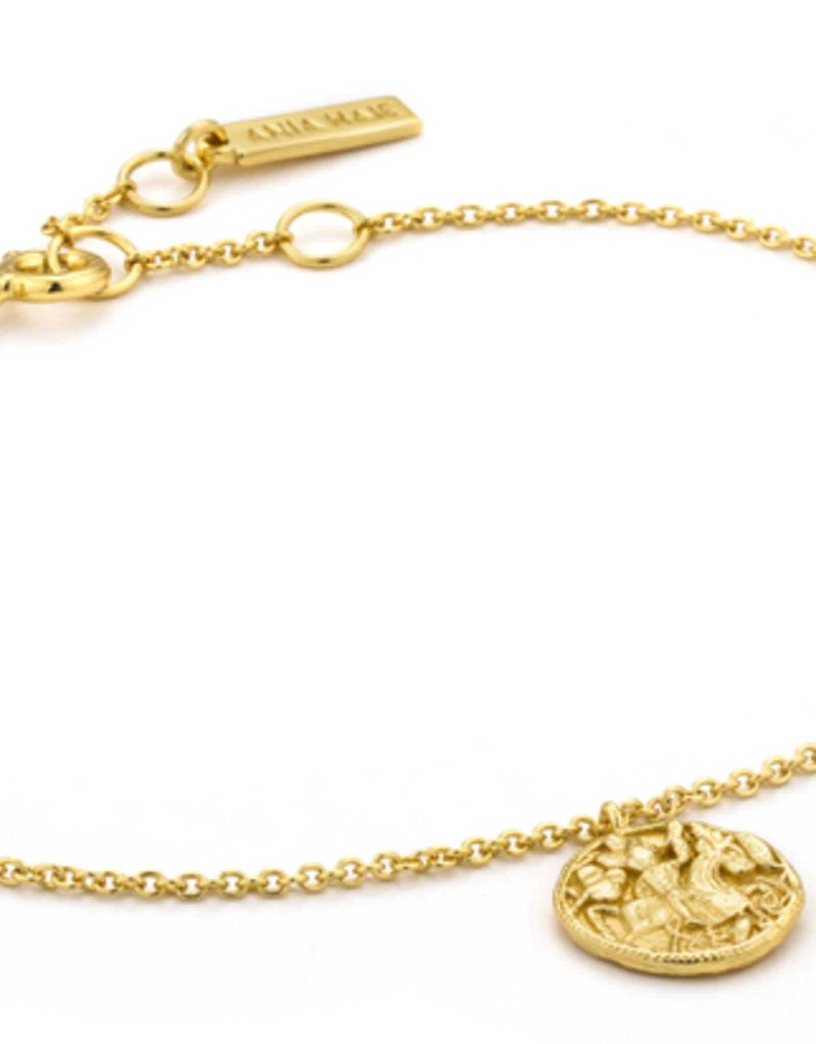 Ania Haie Ania Haie -  greek warrior bracelet gold