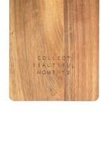 Zusss Zusss - Houten serveerplank 50x18 cm