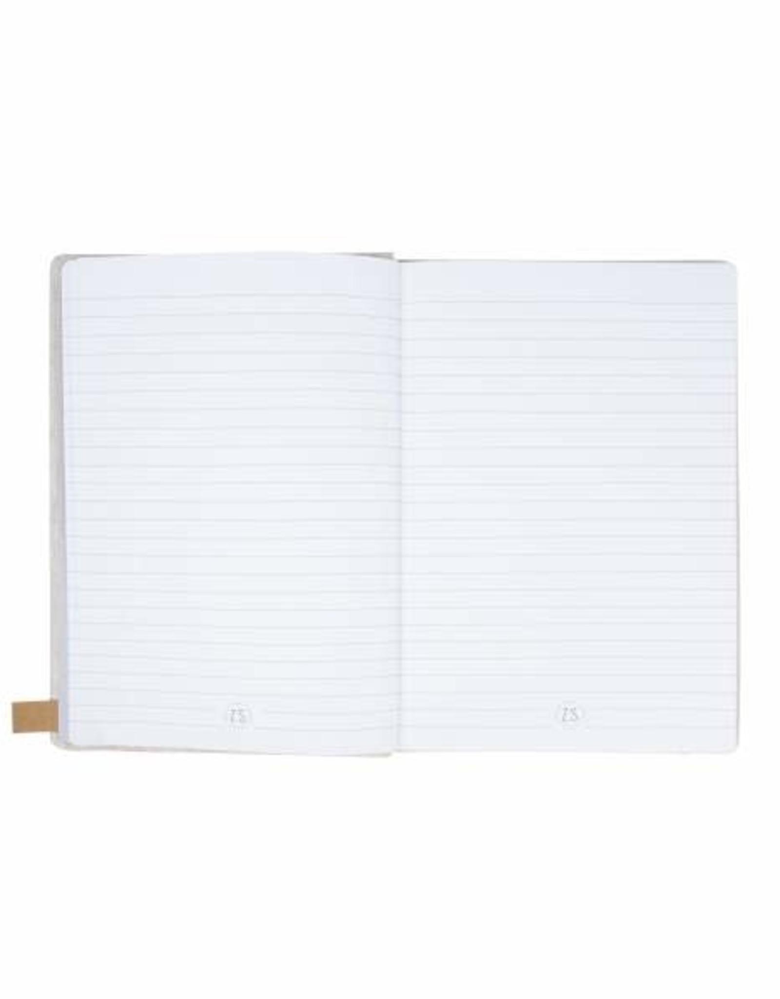 Zusss Zusss - notitieboek can I go - linnen