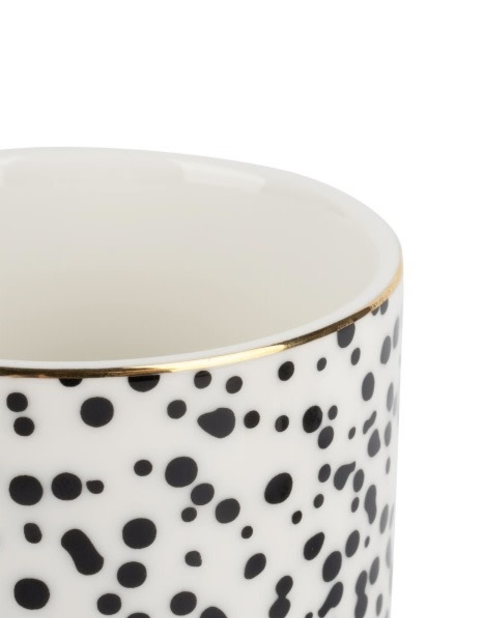 Zusss Zusss - koffiemok - Spikkels/goud