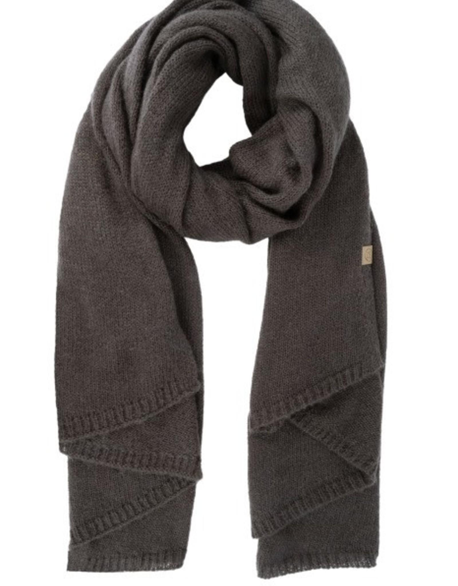 Zusss Zusss - Warme brei sjaal - Grafiet