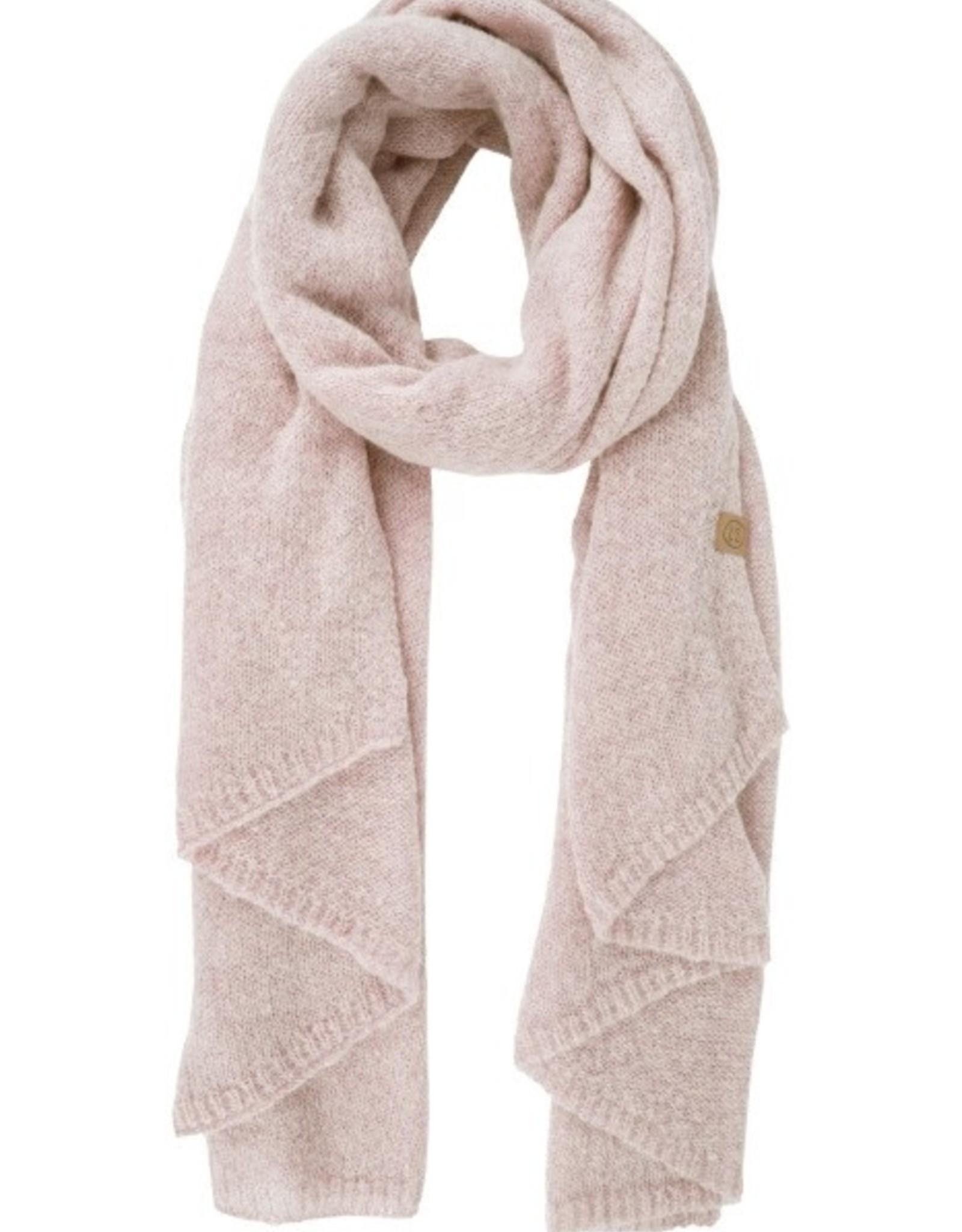 Zusss Zusss - Warme brei sjaal - Poederroze