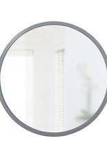 Umbra Umbra - Hub wall mirror - grey - small