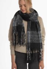 Moss Copenhagen MSCH - Noela scarf - black/grey