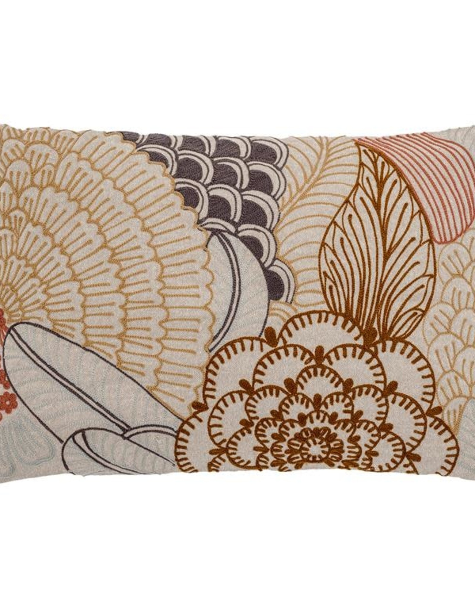 Bloomingville Bloomingville - Graham - Cushion, Nature, Cotton 60x40cm