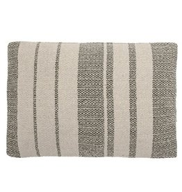 Bloomingville Bloomingville - Cushion, green recycled cotton 60x40