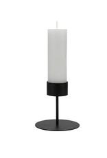 Zusss Zusss - Waxinelichthouder op voet - mat zwart