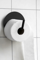 House Doctor House Doctor - Toilet paper holder , Text black