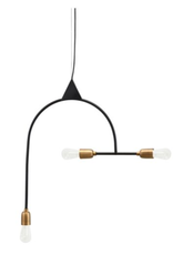 House Doctor House doctor - Lamp arch black/brass plated