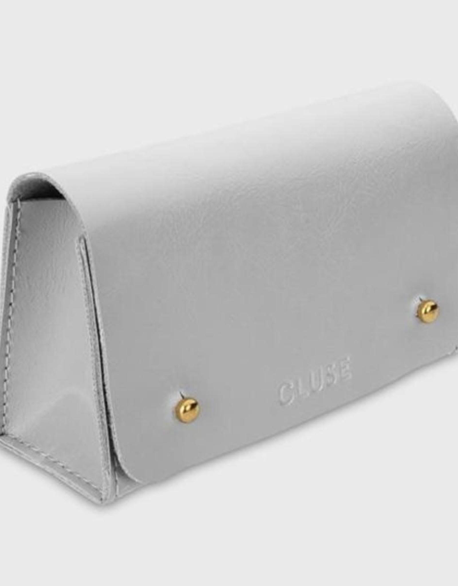 Cluse Cluse - Le Couronnement 3-Link, Silver, Winter white/silver